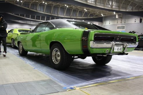 moon green charger