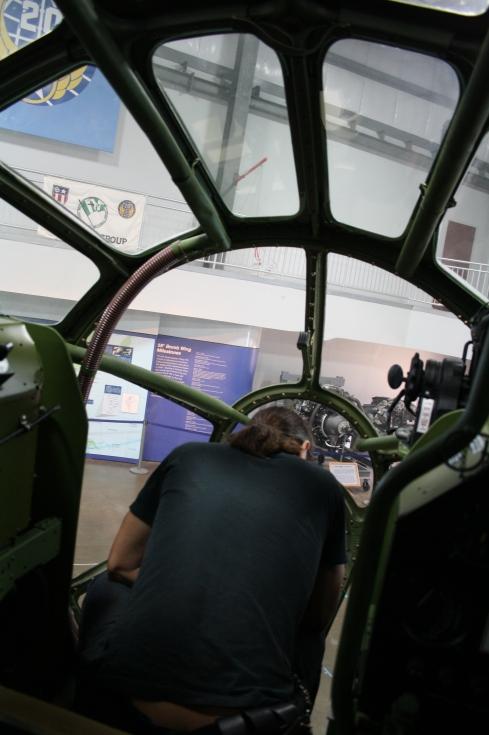 b29 cockpit