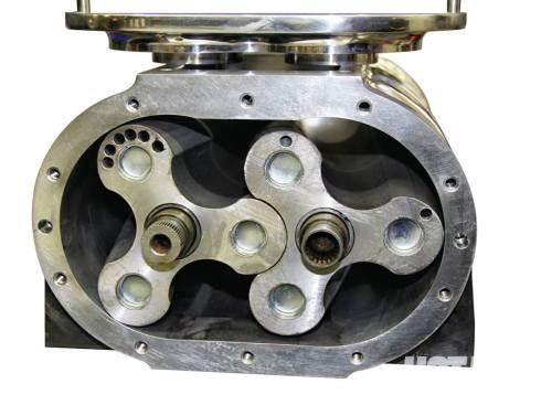 inside of a blower