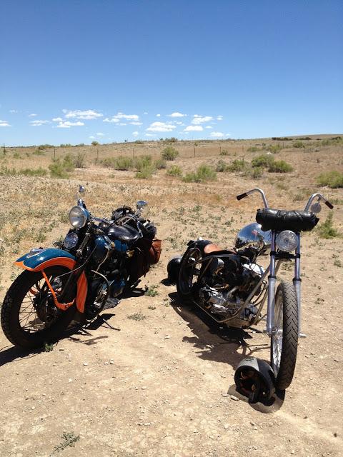 bikes in desert